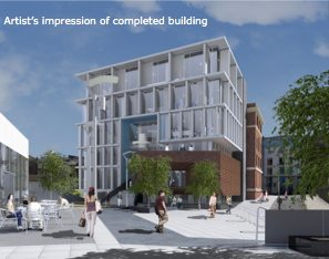 Artist Impression University Centre Hastings