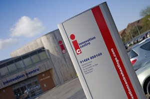 Innovation Centre Sign